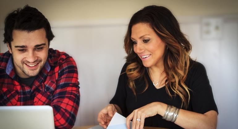 Dave and Daniela