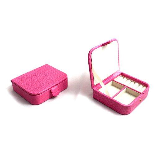 Bey-Berk-International-Jewelry-Case-Pink-Croco-Leather