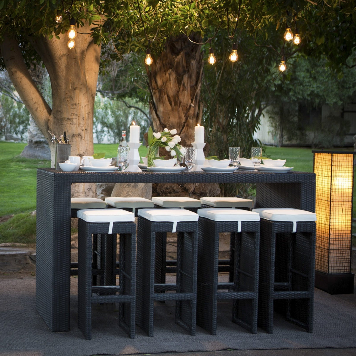 Belham_Living_Matica_All-Weather_Wicker_Bar_Height_Patio_Dining_Set - Seats 8