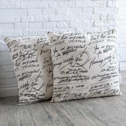 Newton-Large-Square-Pillow