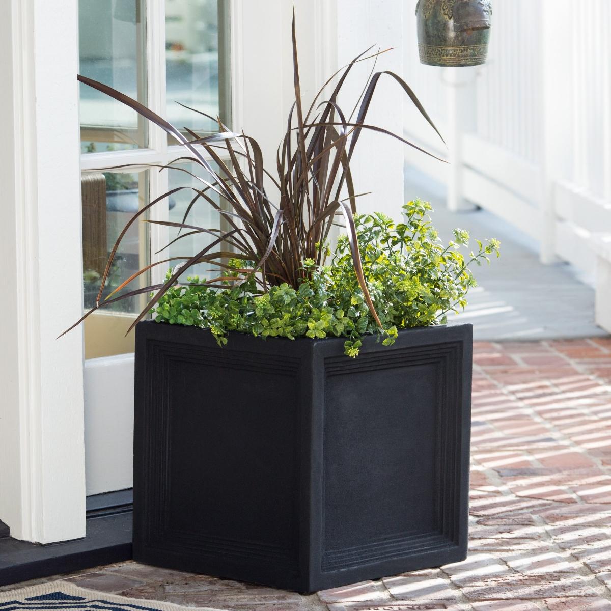 Belham-Living-Fiber-Clay-Caterina-Square-Planter