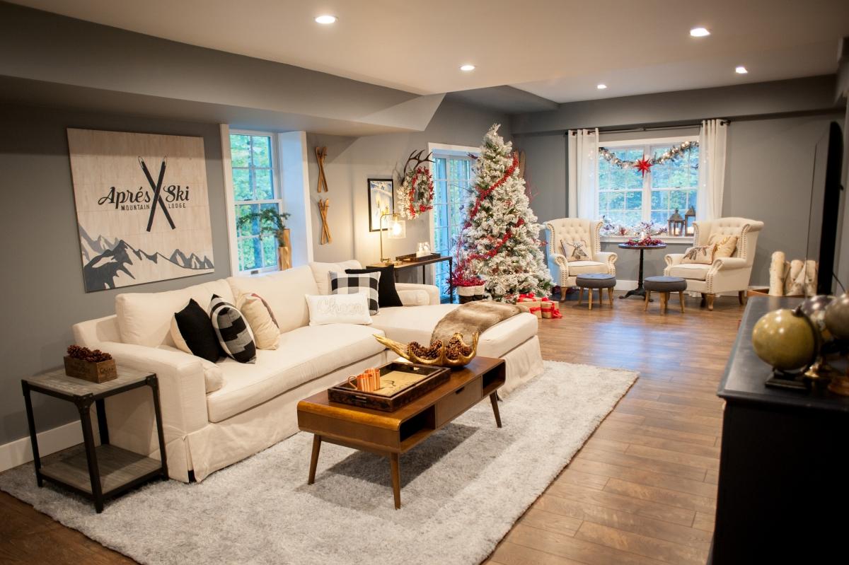 Stefanie's Holiday Lodge Living Room