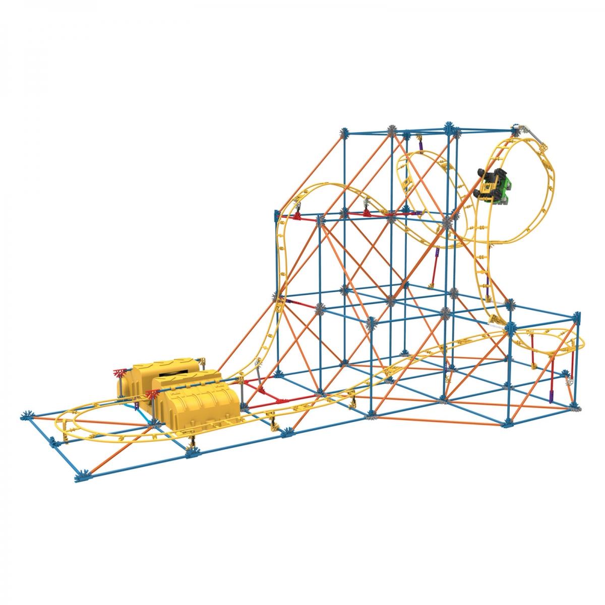 KNEX Hangtime Roller Coaster Building Set KNEX131