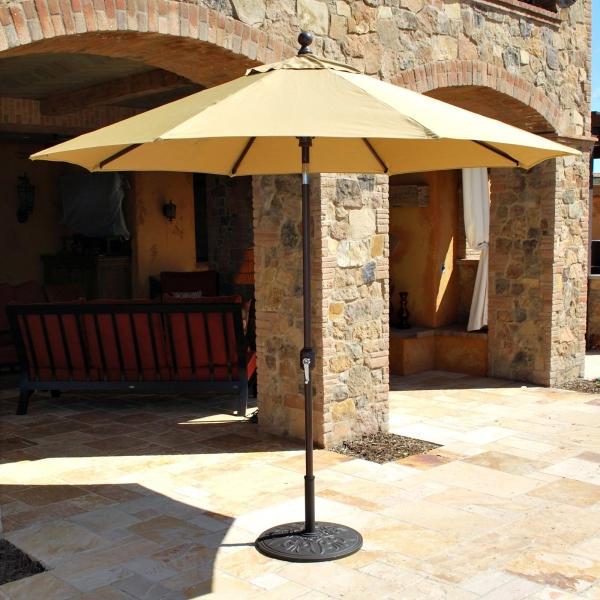 9 Auto Tilt Sunbrella Patio Umbrella Designs
