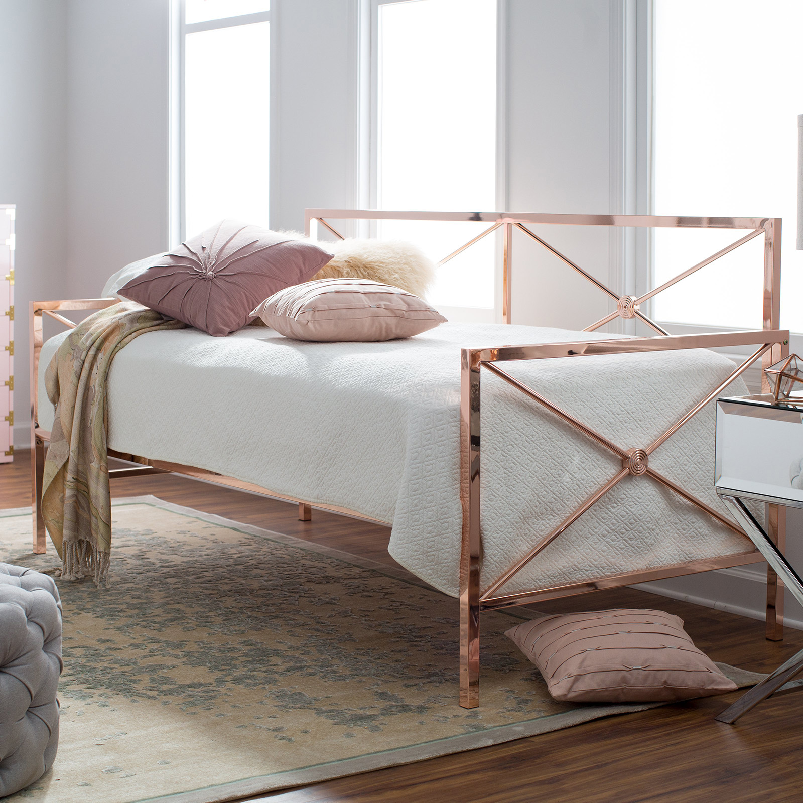 First Blush Chic Pink Furniture Decor