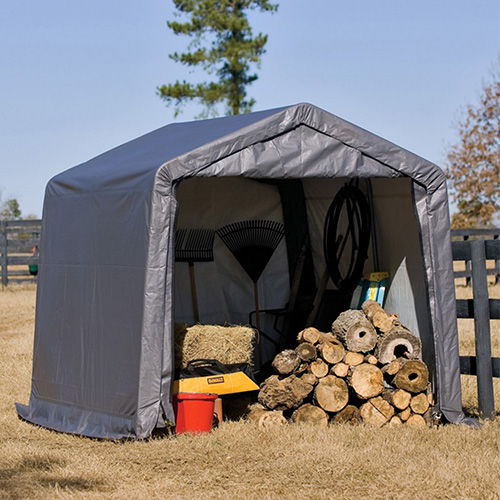 outdoor storage canopy