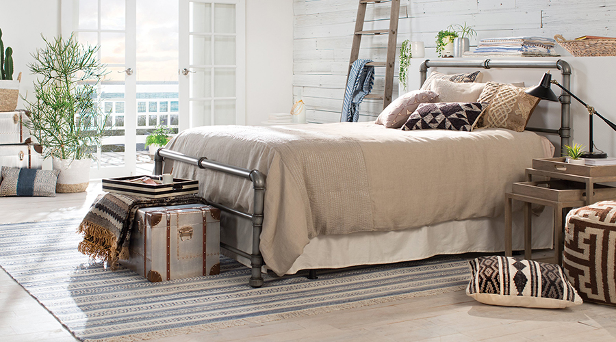 How To Create An Industrial Chic Bedroom Hayneedle
