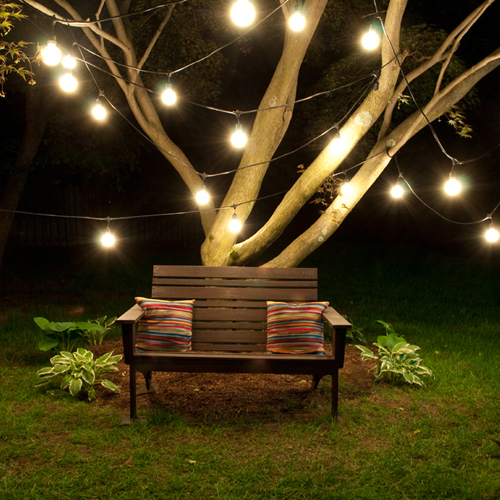 15 Creative Outdoor String Lighting Ideas For Your Backyard