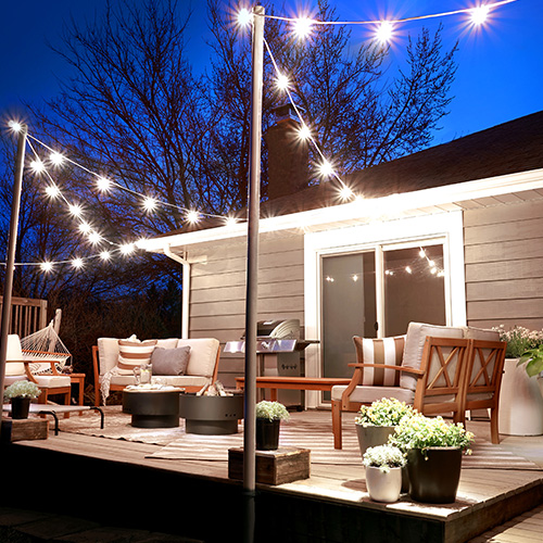 15 Creative Outdoor String Lighting Ideas For Your Backyard
