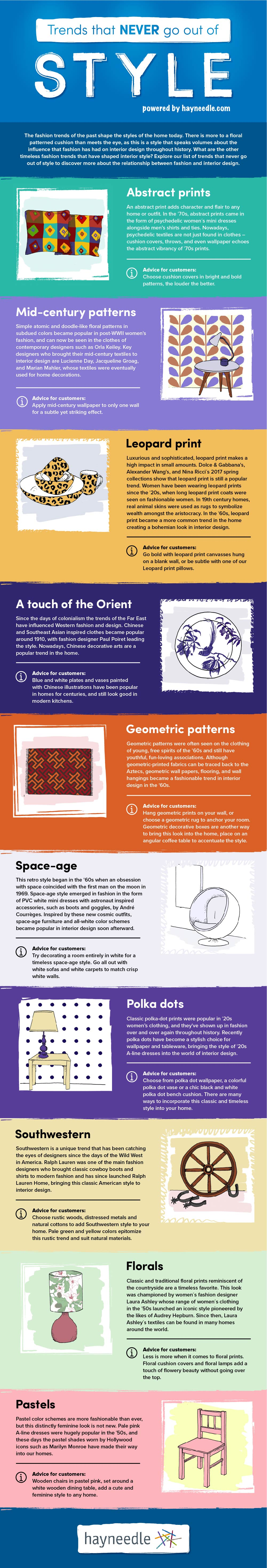 timeless trends infographic
