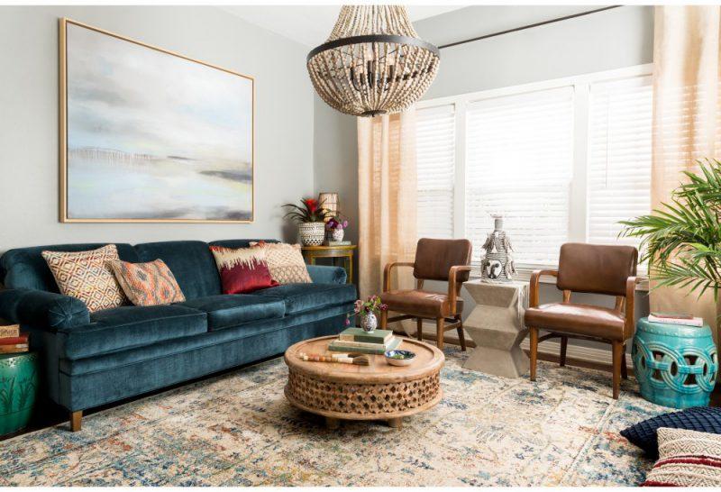How To Style Velour Velvet Furniture Decor Year Round Hayneedle
