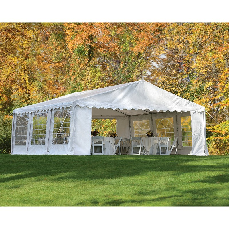 enclosed canopy for formal party