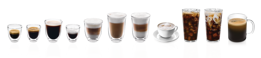 11 types of drinks made with espresso