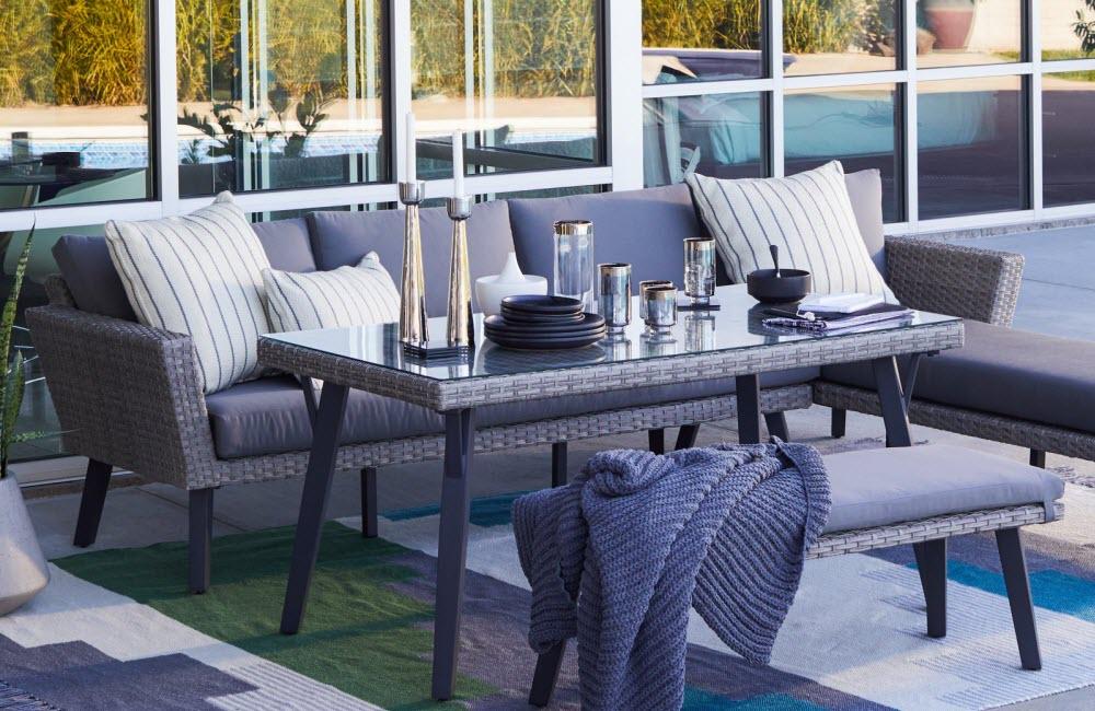 Modern Patio Furniture Decorating Ideas Hayneedle