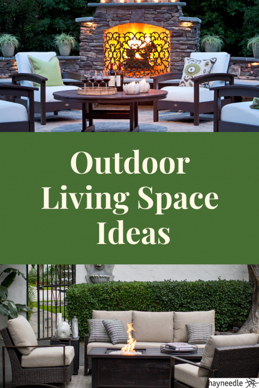 Check out these ideas for creating an inviting outdoor living space