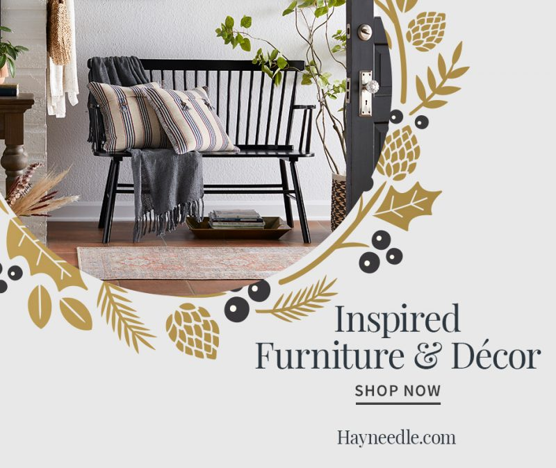 hayneedle banner with entryway bench